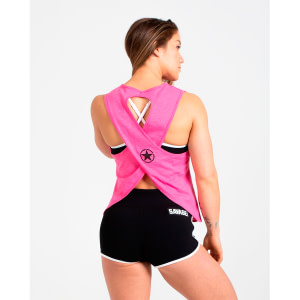 Crossback Tank Top Savage Barbell Hot Pink