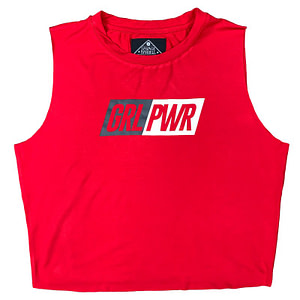 T-shirt Savage Barbell GRL PWR - Red