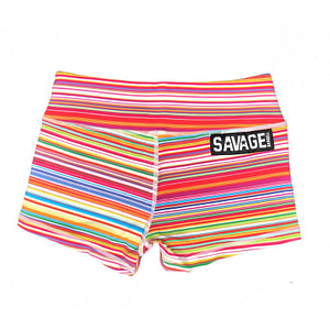Booty Shorts Savage Barbell Candy Shop