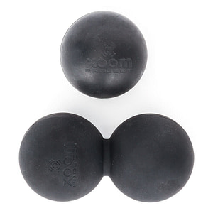 Pack Bolas Lacrosse XoomProject - Preto