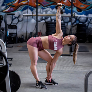 Booty Shorts Rusty - Savage Barbell