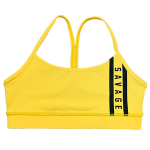 Sport Bra Viper Yellow - Savage Barbell