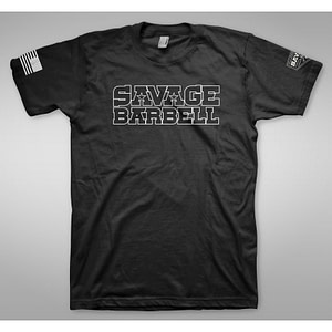 T-shirt Savage Barbell Suicide Squad H