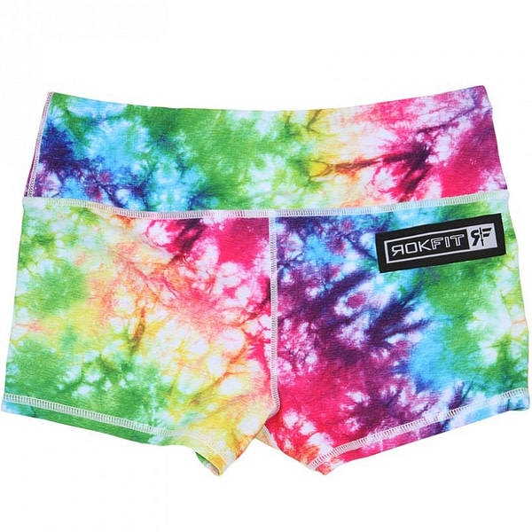 Booty Shorts Dazed and Dyed - Rokfit