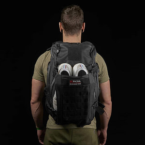PicSil Backpack Tactical Black
