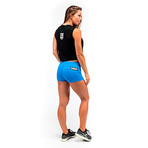 Booty Shorts Blue Sapphire - Savage Barbell