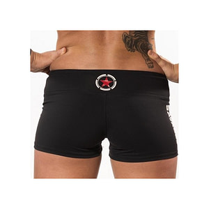 Booty Shorts Savage Barbell - Black