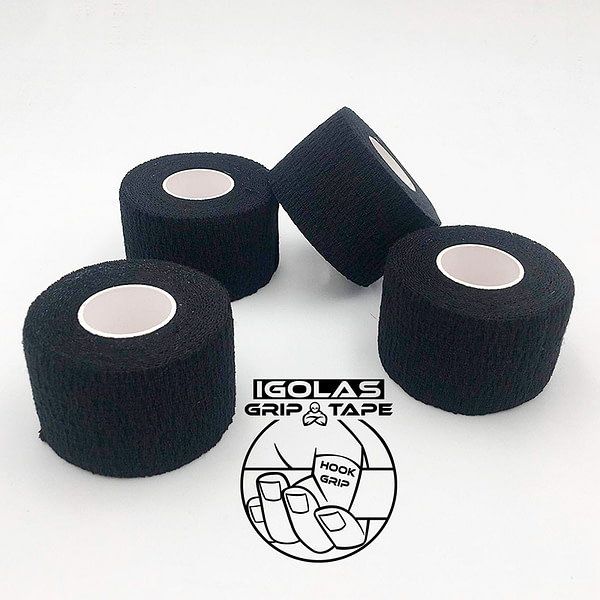 IGolas Grip Tape - 4x Pack Black