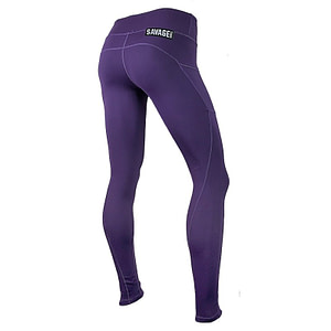 Leggings Savage Barbell Plum