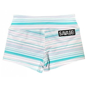 Booty Shorts Savage Barbell Mint Jawbreaker
