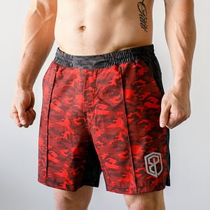 Born Primitive Training Shorts Napalm