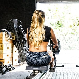 Booty Shorts Savage Barbell Dark Leopard