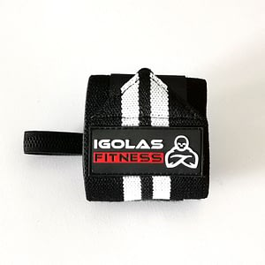 Wrist Wraps Black - IGOLAS