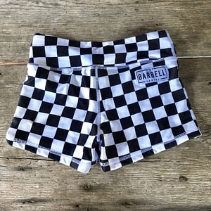 Comp Short 2.0 - Checkered - The Barbell Cartel