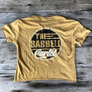 Long Beach Crop - Gold - The Barbell Cartel