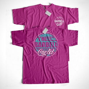 Long Beach Tee Berry - The Barbell Cartel