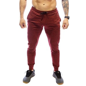 Men Rest Day Joggers Maroon - Born Primitive