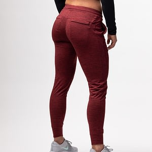 Women Rest Day Joggers Maroon - Born Primitive