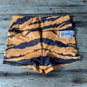 Comp Short 2.0 - Tiger Queen - The Barbell Cartel