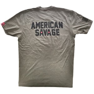 Men T-shirt American Savage – Savage Barbell