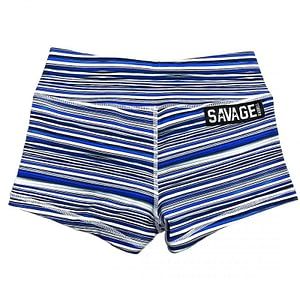 Booty Shorts Blue Jawbreaker - Savage Barbell