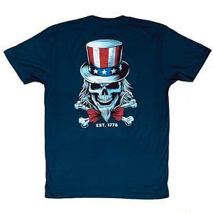 Men T-shirt Uncle Sam – Savage Barbell