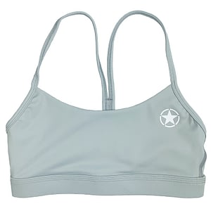 Sports Bra 2 Strap Low Cut - Icicle - Savage Barbell