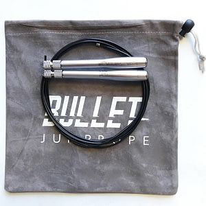 Speed Rope Bullet Comp Silver - Elite Surge