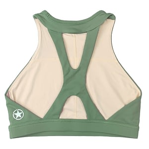 Sports Bra High Neck Moss - Savage Barbell
