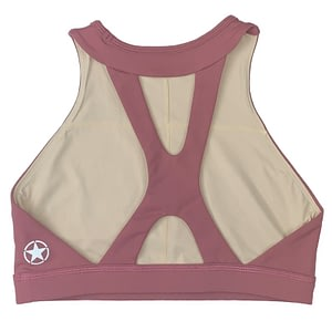 Sports Bra High Neck Rusty - Savage Barbell