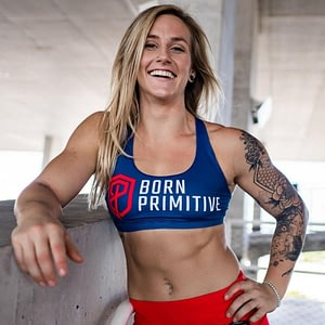 Vitality Sports Bra - Strength Navy Blue | Born Primitive