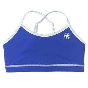 Varsity Sports Bra Royal Blue - Savage Barbell