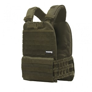 Weight Vest Green - Thorn+Fit