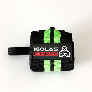 Wrist Wraps Black Green - IGOLAS