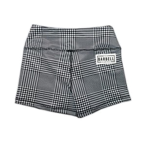 Comp Short 2.0 - Houndstooth- The Barbell Cartel
