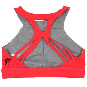 Sport Bra - The Lizzie Red - Rokfit