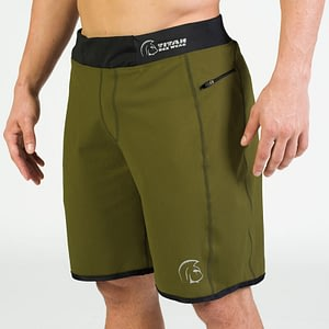 Calções Endurance Core Green – Titan Box Wear