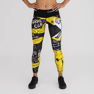 Leggings Tights OLY Yellow – Titan Box Wear