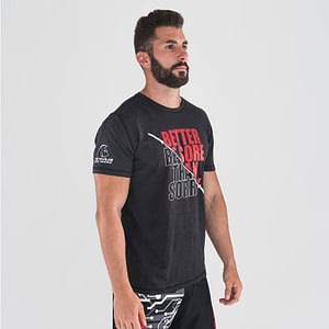 T-shirt Don't Be Sorry Black Red – Titan Box Wear