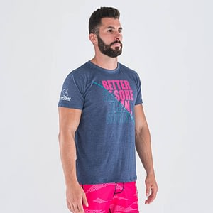 T-shirt Don't Be Sorry Navy – Titan Box Wear