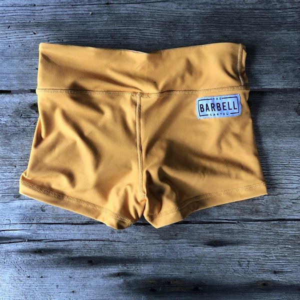 Comp Short 2.0 - Sunset Gold - The Barbell Cartel