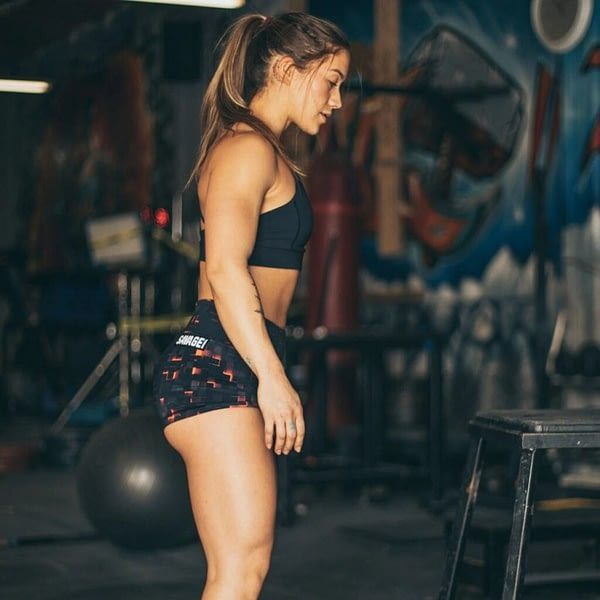 Booty Shorts Ember - Savage Barbell