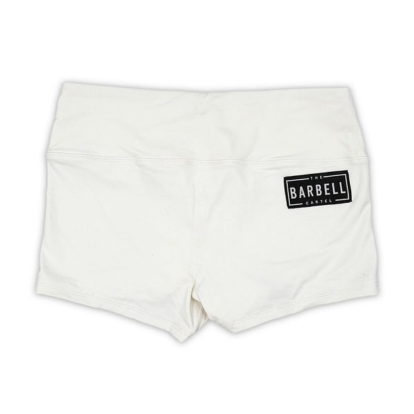 Comp Short 2.0 - White - The Barbell Cartel